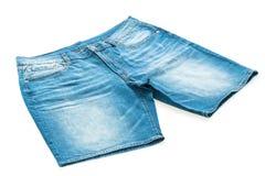 Короткие брюки джинсов стоковая фотография