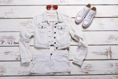 Короткие куртка и юбка Стоковая Фотография RF