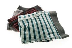 Короткие нижнее белье и брюки для людей Стоковое Изображение RF