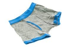 Короткое нижнее белье для ребенк и мальчика стоковое фото rf