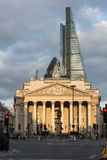 Королевская биржа Лондон Англия Стоковое Фото