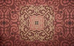 Королевская винтажная стена предпосылки стиля Стоковое Фото