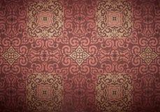 Королевская винтажная стена предпосылки Стоковая Фотография