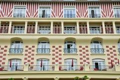 Королевская гостиница Barriere в Deauville Стоковое Изображение RF