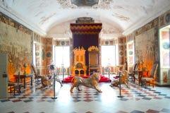 Королевская комната в Копенгагене стоковое фото rf