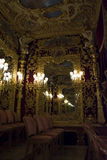 Королевская коробка в Ла Fenice театра Стоковое Изображение