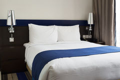 Королевская кровать Стоковые Изображения RF