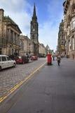 Королевская миля в Эдинбурге Стоковые Изображения