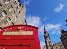 Королевская миля в Эдинбурге Стоковое Изображение RF