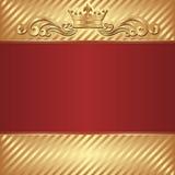Королевская предпосылка Стоковое Изображение