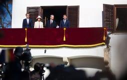 Королевская семья Румынии Стоковые Фотографии RF