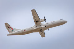 Королевские воздушные судн Maroc воздуха принимая  Стоковое Фото