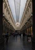 Королевские галереи Hubert Святого, Брюссель, Бельгия Стоковая Фотография RF