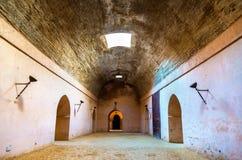 Королевские конюшни и зернохранилища Moulay Ismail, Meknes Стоковые Фотографии RF