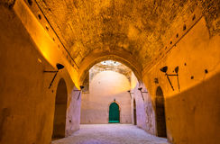Королевские конюшни и зернохранилища Moulay Ismail, Meknes Стоковая Фотография RF