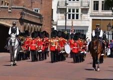 Королевские предохранители Ирландского междорожечныйа промежуток Стоковое Фото