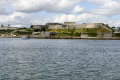 Королевские цитадель и маяк, Плимут Стоковое Изображение RF