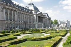 Королевский дворец в Брюсселе стоковое изображение