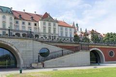 Королевский дворец в Варшаве Стоковые Фотографии RF