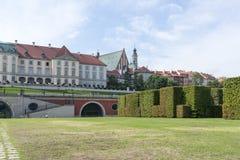 Королевский дворец в Варшаве Стоковые Изображения RF