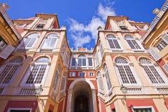 Королевский дворец в Генуе, Италии Стоковые Изображения