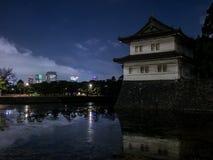 Королевский дворец в токио Стоковое Фото