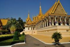 Королевский дворец в Pnom Penh Стоковая Фотография RF