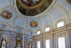 Королевский дворец Казерты Стоковое Изображение