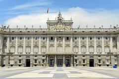 Королевский дворец Мадрида, Испании Стоковые Фото