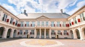 Королевский дворец, фото запаса - голландский парламент, вертеп Haag, Netherla Стоковое Изображение RF