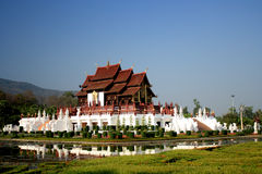 Королевский дворец флоры в Таиланде Стоковые Изображения RF