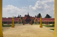 Королевский дворец Стоковое Изображение