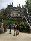 Королевский дворец Sintra, Португалия Стоковое Фото