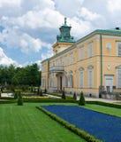 Королевский дворец Wilanow в Варшаве, Польше Стоковое Фото