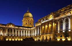 Королевский замок Будапешта, Венгрии Стоковые Изображения RF