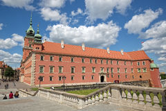 Королевский замок в Варшаве, Польше Стоковые Изображения