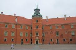 Королевский замок в Варшаве, столице Польши Стоковые Фото