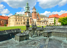 Королевский замок в Кракове, Wawel Стоковое Изображение RF