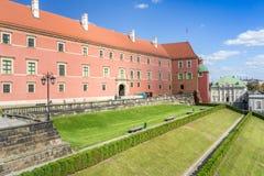 Королевский замок в старом городке, Варшаве стоковые изображения