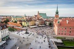 Королевский замок в старом городке, Варшаве стоковая фотография