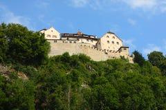 Королевский замок, Лихтенштейн Стоковые Изображения