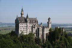Королевский замок Нойшванштайна стоковое фото