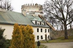 Королевский замок Casimir в Przemysl Польша стоковое фото