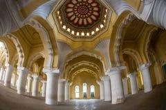 Королевский интерьер в дворце Джайпура, Индии Стоковая Фотография