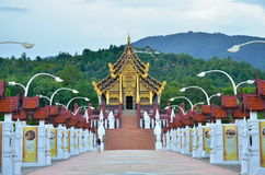 Королевский парк Rajapruek Стоковое фото RF