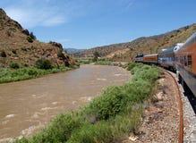 Королевский поезд трассы ущелья Стоковое Фото
