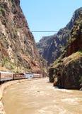 Королевский поезд трассы ущелья Стоковые Изображения RF