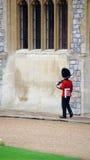 Королевский предохранитель в замке Виндзора Стоковое фото RF