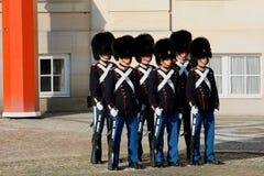 Королевский предохранитель в Копенгагене, Дании Стоковое Изображение RF