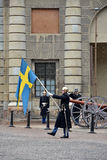 Королевский предохранитель Швеции Стоковое Изображение